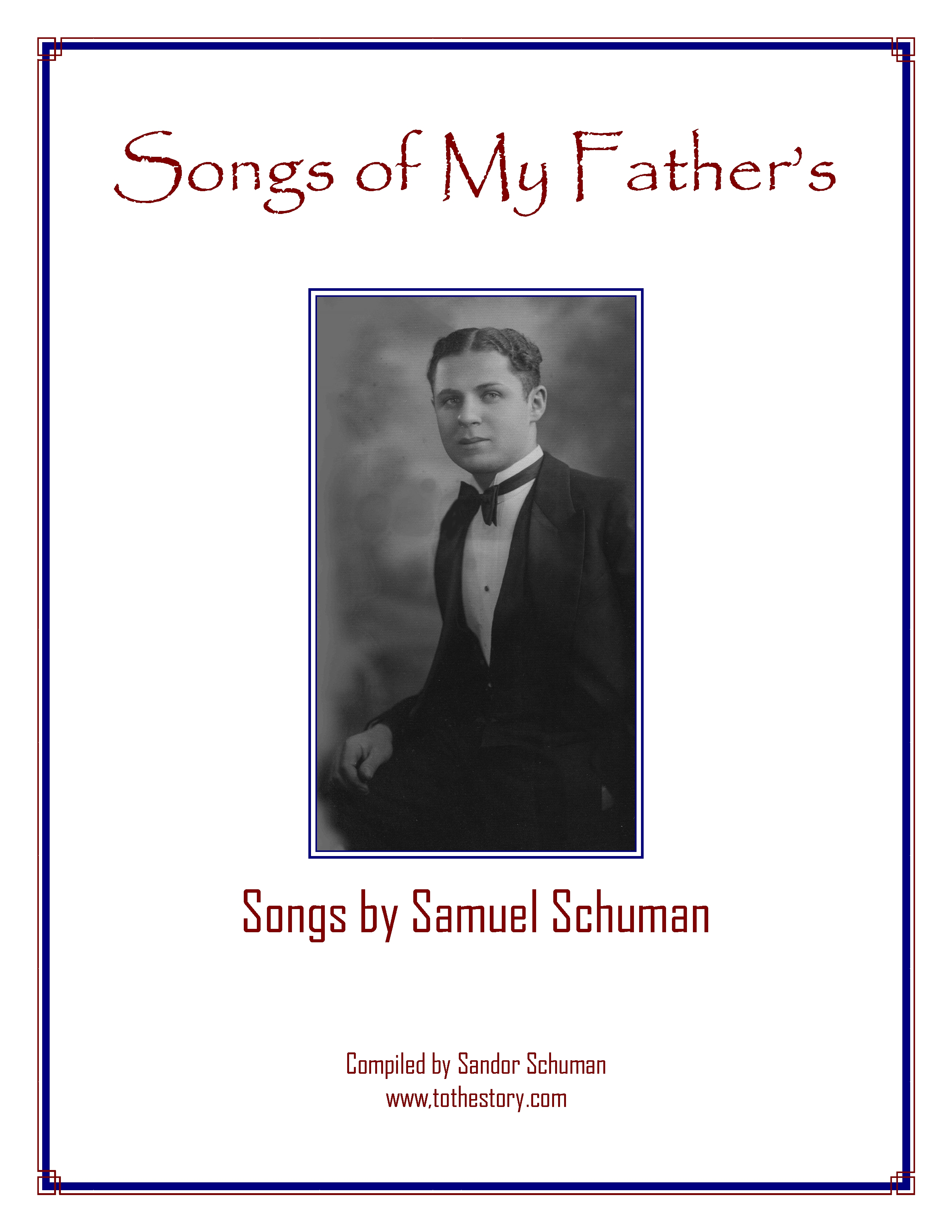Songbook-Songs of My Father's